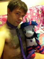 character:twilight_sparkle collar creator:jin leash male socks toy:plushie // 480x640 // 106.1KB