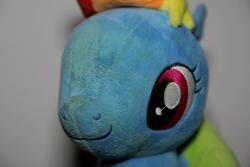character:rainbow_dash cum dried_up_cum toy:plushie // 5760x3840 // 2.7MB