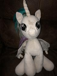 character:princess_celestia creator:Lolzorg cum cum_on_plushie toy:build-a-bear toy:plushie // 3024x4032 // 3.3MB