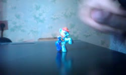 character:rainbow_dash cum cum_on_toy male masturbation no_audio penis quality:480p toy:blindbag video // 800x480 // 22.0MB
