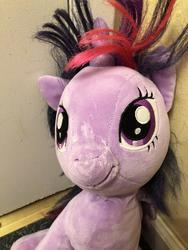 character:twilight_sparkle creator:Lolzorg cum cum_on_plushie toy:build-a-bear toy:plushie // 3024x4032 // 1.1MB