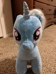 character:trixie_lulamoon creator:ponylover cum cum_on_plushie toy:build-a-bear toy:plushie // 3024x4032 // 4.1MB