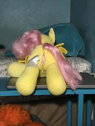 character:fluttershy creator:JamesW69 sph toy:build-a-bear toy:plushie // 3024x4032 // 761.1KB