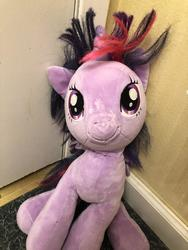 character:twilight_sparkle creator:Lolzorg cum cum_on_plushie toy:build-a-bear toy:plushie // 3024x4032 // 1.0MB