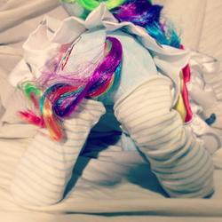 character:rainbow_dash socks toy:build-a-bear toy:plushie // 612x612 // 74.6KB