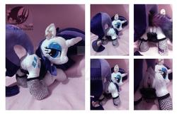 artist:legadema character:rarity custom_plush dock fishnet sph stockings toy:plushie vagina // 1112x718 // 97.9KB