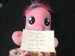mlp character:pinkie_pie toy:pinkie-learns-to-walk toy:plushie // 1296x968 // 405.9KB