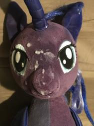 character:princess_luna creator:JamesW69 cum cum_on_plushie toy:build-a-bear toy:plushie // 3024x4032 // 761.5KB