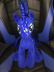 character:princess_luna creator:Lolzorg cum cum_on_plushie toy:build-a-bear toy:plushie // 3024x4032 // 3.0MB