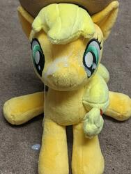 character:applejack creator:winter cum cum_on_plushie toy:4de toy:plushie // 3024x4032 // 2.2MB