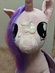 character:princess_cadance creator:winter cum cum_on_plushie toy:build-a-bear toy:plushie // 3024x4032 // 3.0MB