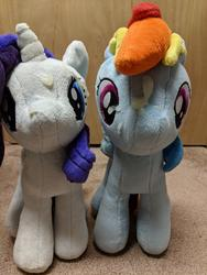 character:rainbow_dash character:rarity creator:winter cum cum_on_plushie toy:plushie // 3024x4032 // 3.2MB