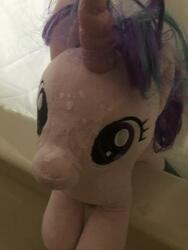character:starlight_glimmer creator:that_purple_horse cum cum_on_plushie toy:build-a-bear toy:plushie // 960x1280 // 246.3KB