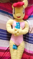 anthro character:apple_bloom condom creator:redjin5 toy:plushie // 772x1372 // 146.4KB
