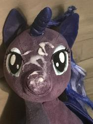 character:princess_luna creator:JamesW69 cum cum_on_plushie toy:build-a-bear toy:plushie // 3024x4032 // 630.5KB