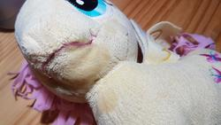 character:fluttershy creator:lyra cum cum_on_plushie toy:plushie // 4032x2268 // 1.4MB