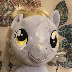 character:derpy_hooves creator:JamesW69 cum cum_on_plushie toy:build-a-bear toy:plushie // 3024x3024 // 763.8KB