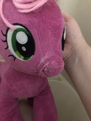 character:cheerilee creator:that_purple_horse cum cum_on_plushie toy:build-a-bear toy:plushie // 3024x4032 // 2.6MB