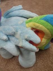 character:rainbow_dash creator:winter cum cum_on_plushie cum_on_wings toy:plushie // 3120x4160 // 3.4MB