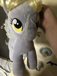 character:derpy_hooves creator:that_purple_horse cum cum_on_plushie toy:build-a-bear toy:plushie // 960x1280 // 277.8KB