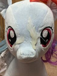 character:rainbow_dash creator:winter cum cum_on_plushie toy:build-a-bear toy:plushie // 3024x4032 // 2.3MB
