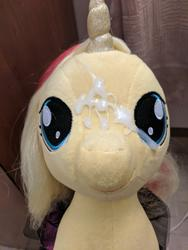character:sunset_shimmer creator:winter cum cum_on_plushie toy:build-a-bear toy:plushie // 3024x4032 // 3.0MB
