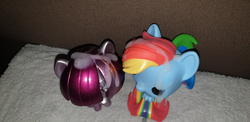 character:rainbow_dash character:twilight_sparkle creator:bonbon cum cum_on_toy toy:funko // 4032x1960 // 3.2MB