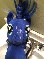 character:princess_luna creator:Lolzorg cum cum_on_plushie toy:build-a-bear toy:plushie // 3024x4032 // 1.2MB