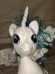 character:princess_celestia creator:JamesW69 cum cum_on_plushie toy:build-a-bear toy:plushie // 3024x4032 // 2.4MB