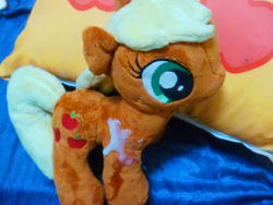 character:applejack creator:redjin5 cum cum_on_plushie custom_plush toy:plushie // 1200x900 // 407.0KB