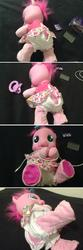 mlp bondage character:pinkie_pie toy:pinkie-learns-to-walk toy:plushie // 648x1951 // 466.0KB