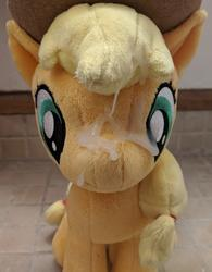 character:applejack creator:winter cum cum_on_plushie toy:plushie // 2357x3024 // 3.2MB