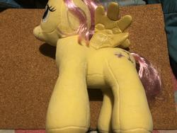 character:fluttershy clean creator:that_purple_horse toy:build-a-bear toy:plushie // 4032x3024 // 3.0MB