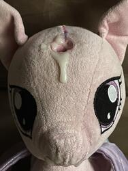 character:princess_cadance creator:jamesw69 cum cum_on_plushie toy:build-a-bear toy:plushie // 3024x4032 // 1.8MB