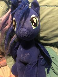 artist:lolzorg character:princess_luna creator:lolzorg creator:that_purple_horse cum cum_on_plushie dirty dried_up_cum toy:build-a-bear toy:plushie // 3024x4032 // 3.2MB