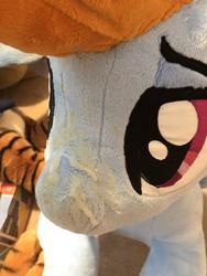 character:rainbow_dash cum cum_on_plushie custom_plush dried_up_cum lifesized toy:plushie // 3024x4032 // 1.1MB