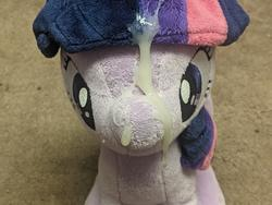 character:twilight_sparkle creator:winter cum cum_on_plushie toy:4de toy:plushie // 4032x3024 // 2.2MB