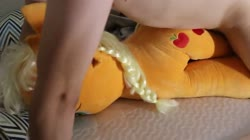character:applejack creator:antonhieronymous cum cum_on_plushie grinding has_audio male penis quality:480p toy:plushie video // 852x480 // 30.4MB