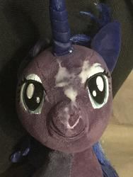 character:princess_luna creator:JamesW69 cum cum_on_plushie toy:build-a-bear toy:plushie // 3024x4032 // 677.6KB