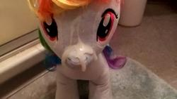 character:rainbow_dash creator:winter cum cum_on_plushie toy:build-a-bear toy:plushie // 2560x1440 // 332.1KB