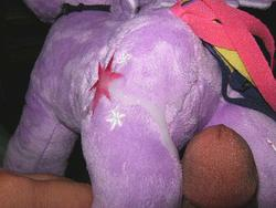 character:twilight_sparkle cum cum_on_plushie male penis toy:plushie // 640x480 // 64.3KB