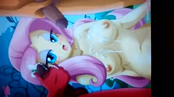 character:applejack character:big_macintosh character:fluttershy cum cum_on_laptop cum_tribute has_audio laptop male masturbation penis quality:720p video // 1280x720 // 54.7MB